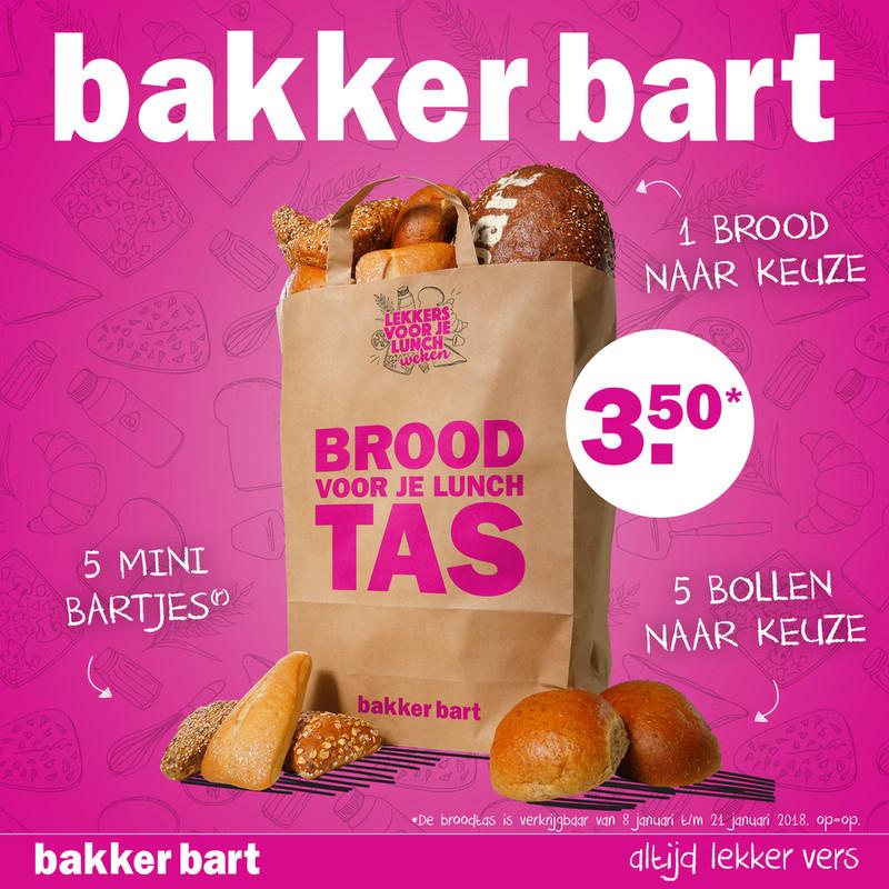 Volgende week - Broodtas - €3,50 @ Bakker Bart