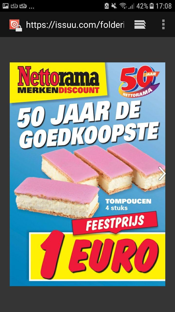 Mega  veel goedkope aanbiedingen bij  nettorama