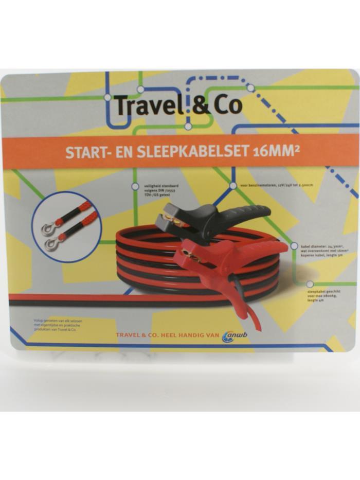Start- en sleepkabelset voor 5 eur + 2e gratis @ ANWB (Leden)