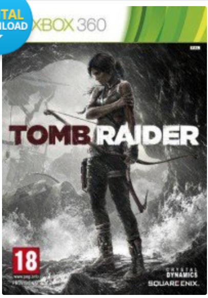 Tomb Raider Xbox 360 @ CDKeys