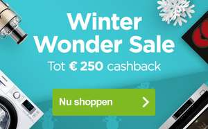 Winter Wonder Sale, tot €250 cashback @ AO.nl