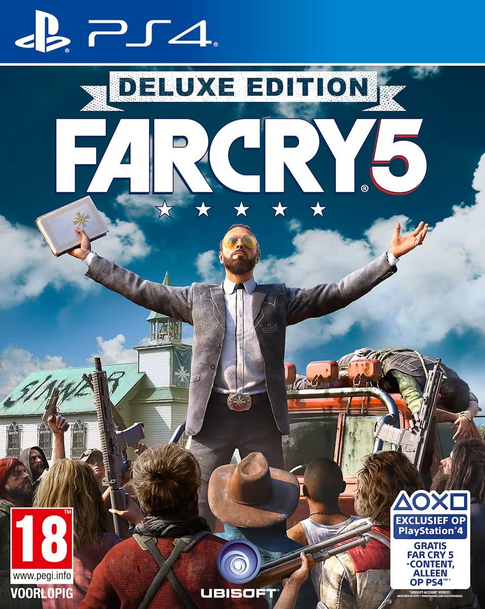 Far Cry 5 Deluxe (PS4 en Xbox)