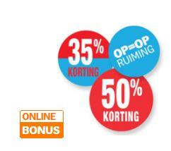 Op = Op aanbiedingen (meeste -50%) @ Albert Heijn