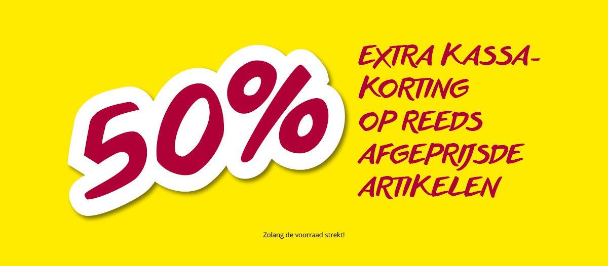 50% extra korting op afgeprijsde artikelen @ Takko (winkels)
