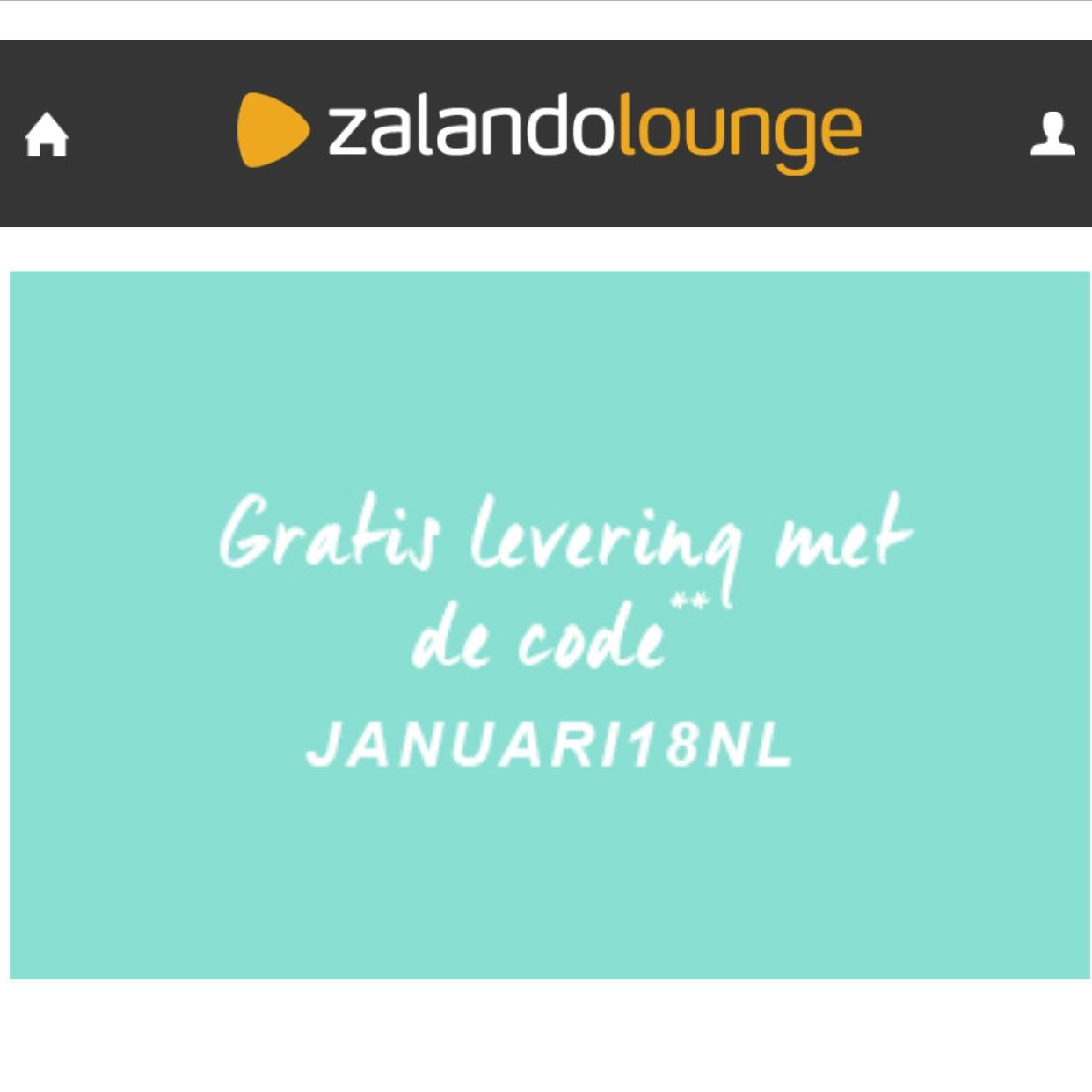 Gratis verzending t.w.v. €5,90 @Zalando Lounge