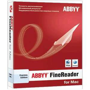 ABBYY FineReader Express Edition for Mac retail voor €1,- @ Mycom
