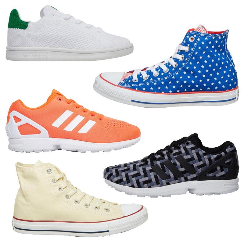 Sneakers met tot 88% korting (o.a. ruime keuze adidas + Converse) @ MandM Direct