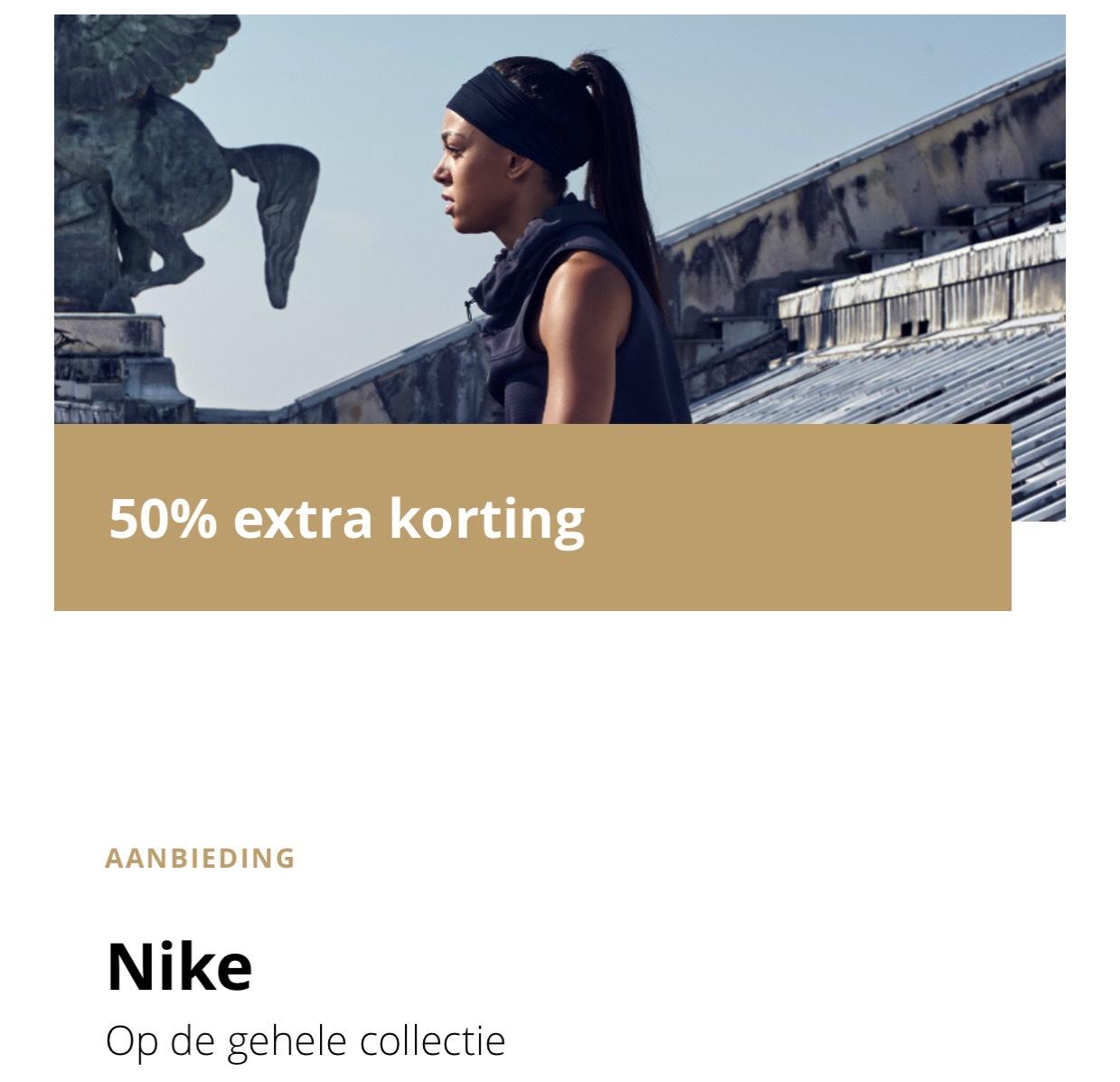 [lokaal] 50% extra korting op alles @Nike Factory Store Bataviastad