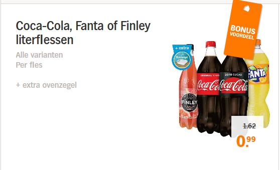 Coca cola 1L @ ah