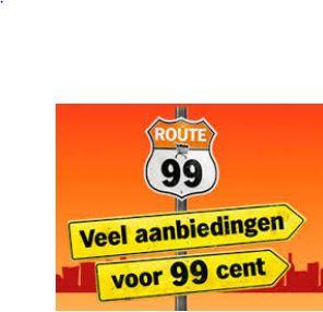 Route 99 veel aanbiedingen voor € 0,99 @ Albert Heijn