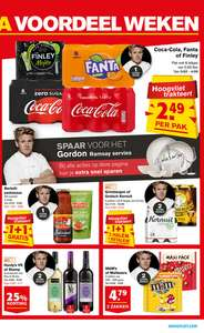 The Coke Report, Coca Cola 6 blikjes €2,49 @Hoogvliet v.a. wo. 17-1