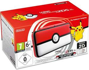 New Nintendo 2DS XL Poké Ball Edition voor €123,89 @ Amazon.de
