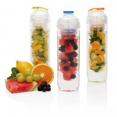 Loooqs Tritan drinkfles met fruit infuser - 500 ml