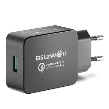 BlitzWolf® BW-S5 QC3.0 18W USB Charger EU Adapter Banggood