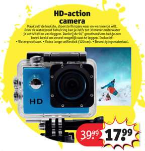 HD-action camera Kruidvat