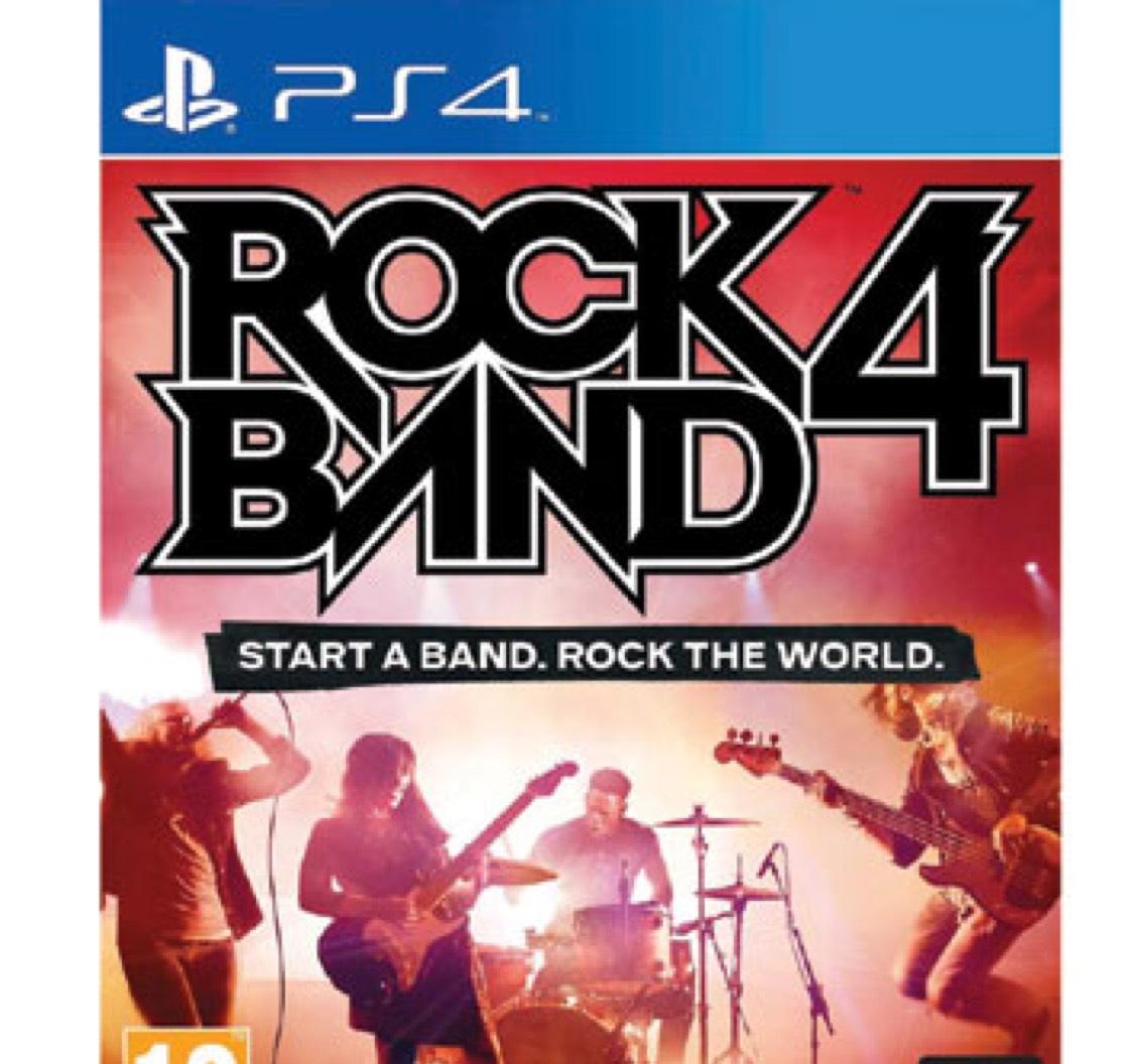 Rock Band 4 - PS4 - €6,99 + Gratis verzending