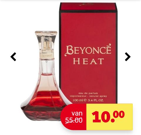 Beyonce heat parfum 100 ml van '€55' naar €10