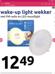 Wake-up light ACTION België