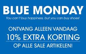 Blue Monday: 10% extra korting op sale @ Ziengs
