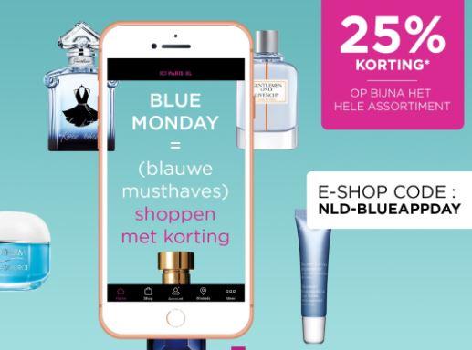 25% Blue Monday korting bij ICI Paris XL