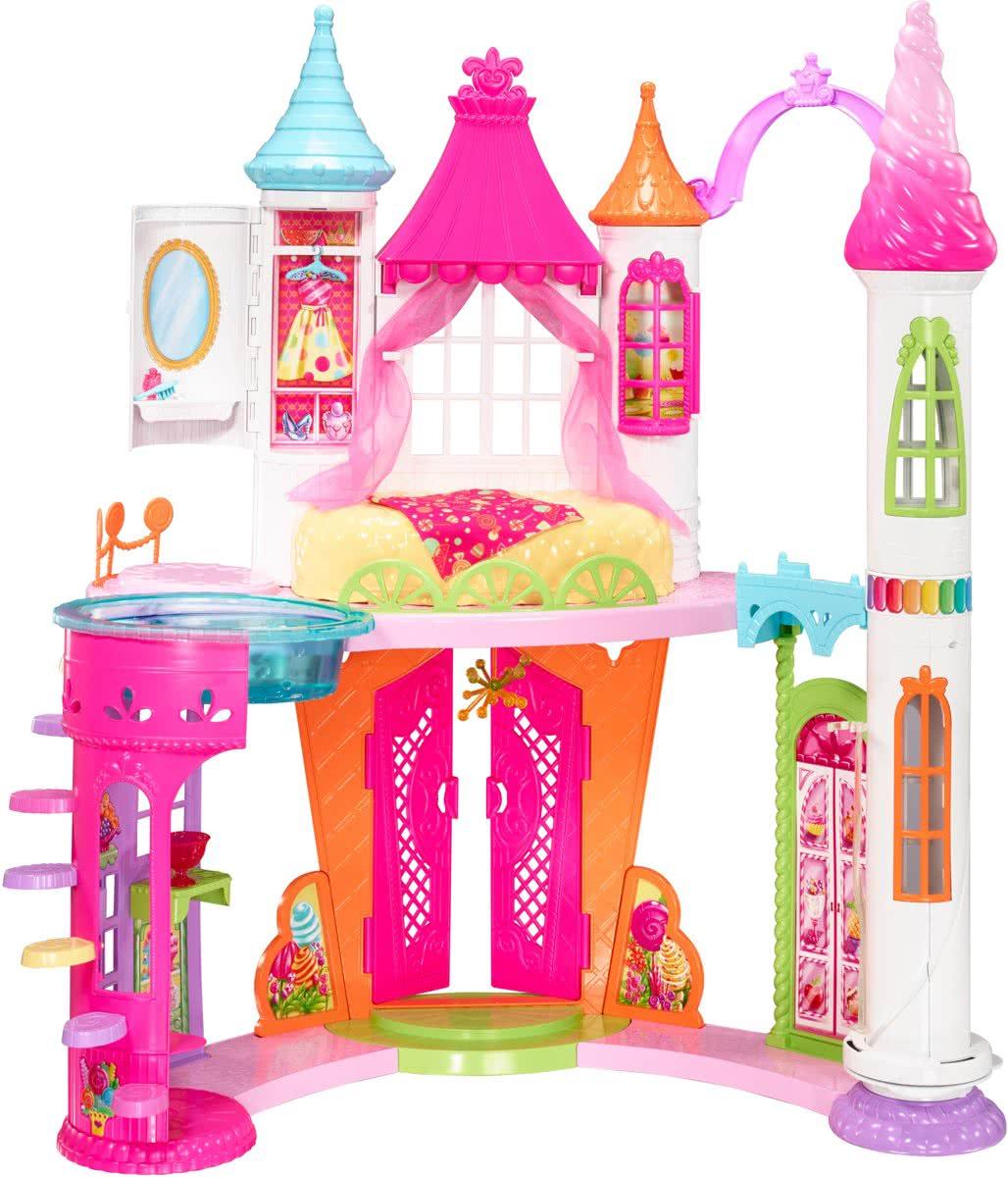 Barbie dreamtopia zoethuizen kasteel bij bol