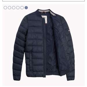 Polyester pufferbomber van Tommy Hilfiger