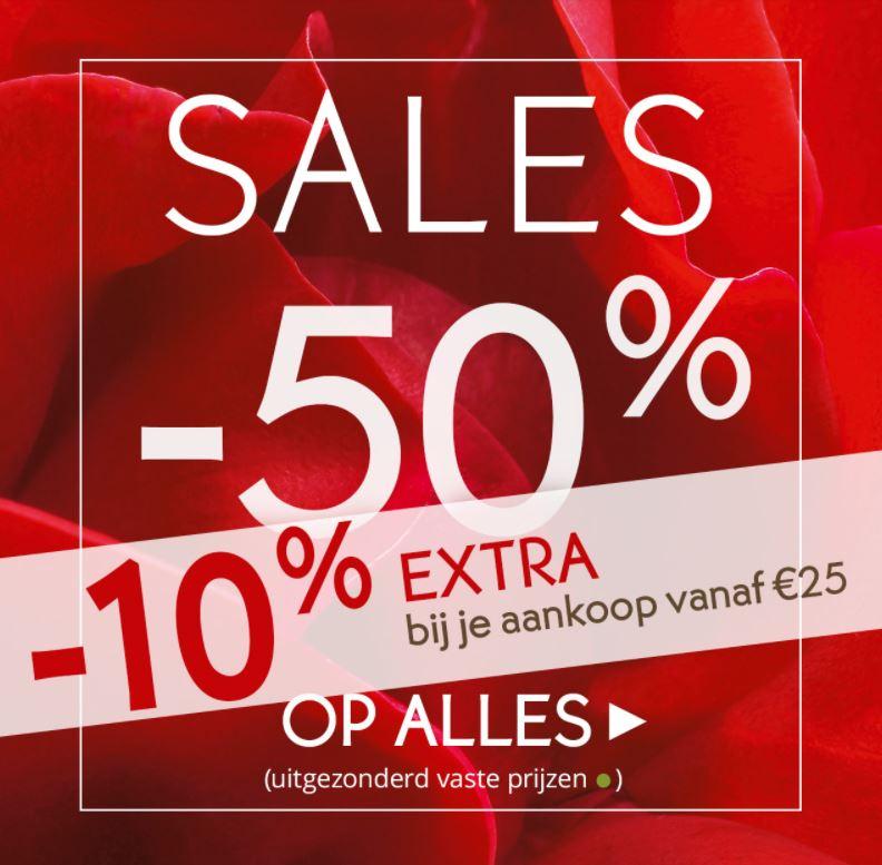 10% Extra korting (va €25) + alles -50% + sale tot -70% + gratis plaid @ Yves Rocher