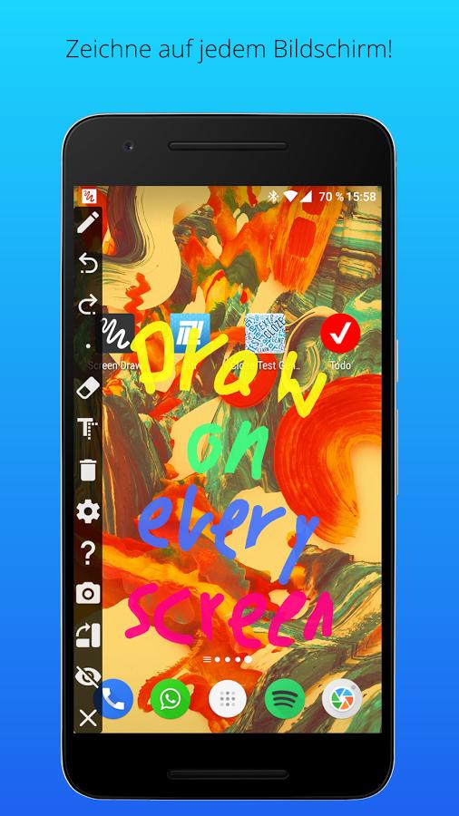 Screen Draw Screenshot Pro van 1,99 nu gratis @ Google playstore