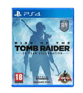 Rise of the Tomb Raider: 20 Year Celebration (PS4) voor €18,50 @ Coolshop