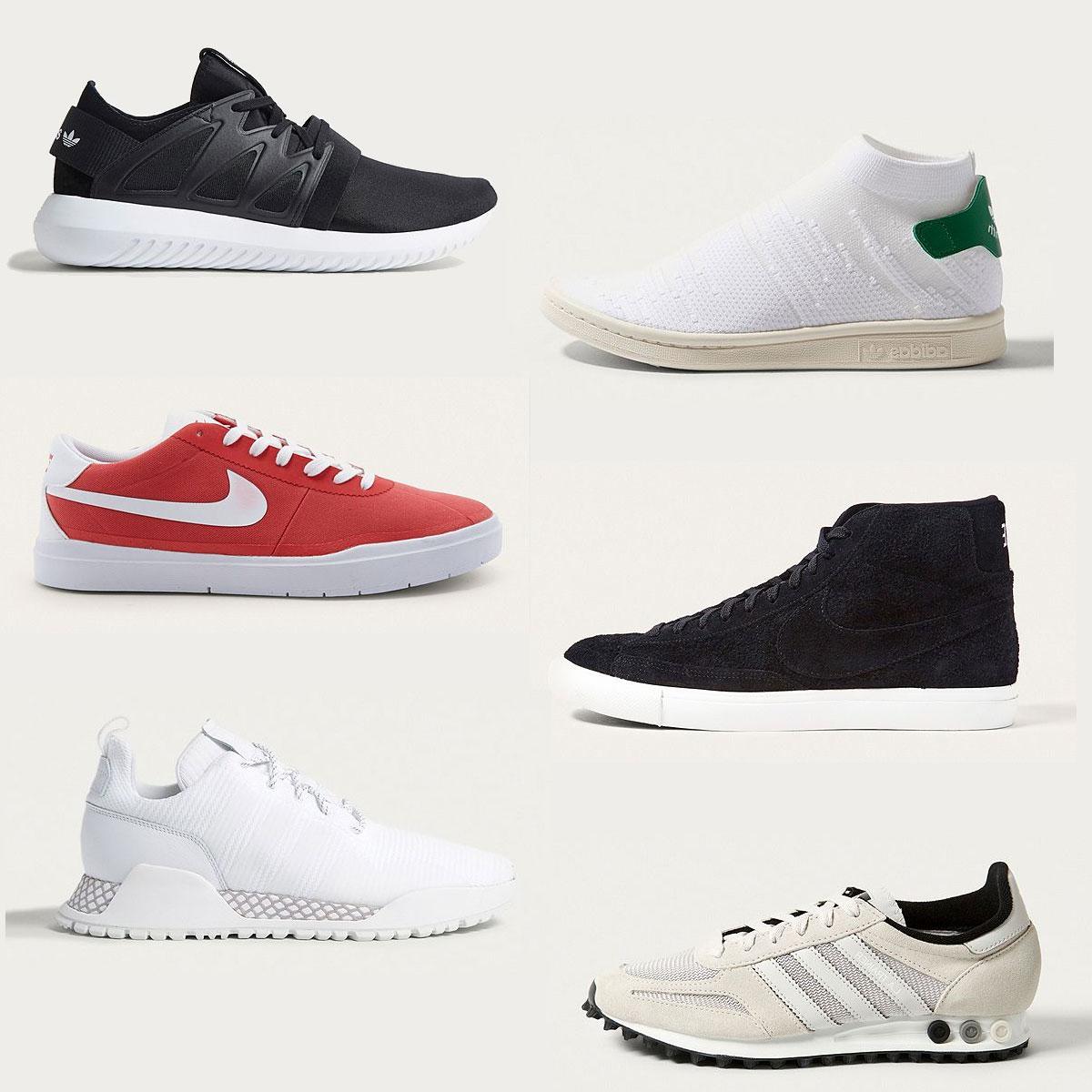 Sneakers tegen scherpe prijzen (adidas + Nike) @ Urban Outfitters