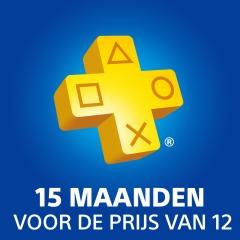 15 maanden PlayStation Plus voor de prijs van 12