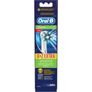 Oral B Cross Action opzetborstels 10 stuks
