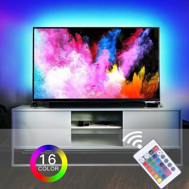 DIY RGB LED Strip Waterproof inclusief afstandbediening vanaf €1,65 tot €10,65