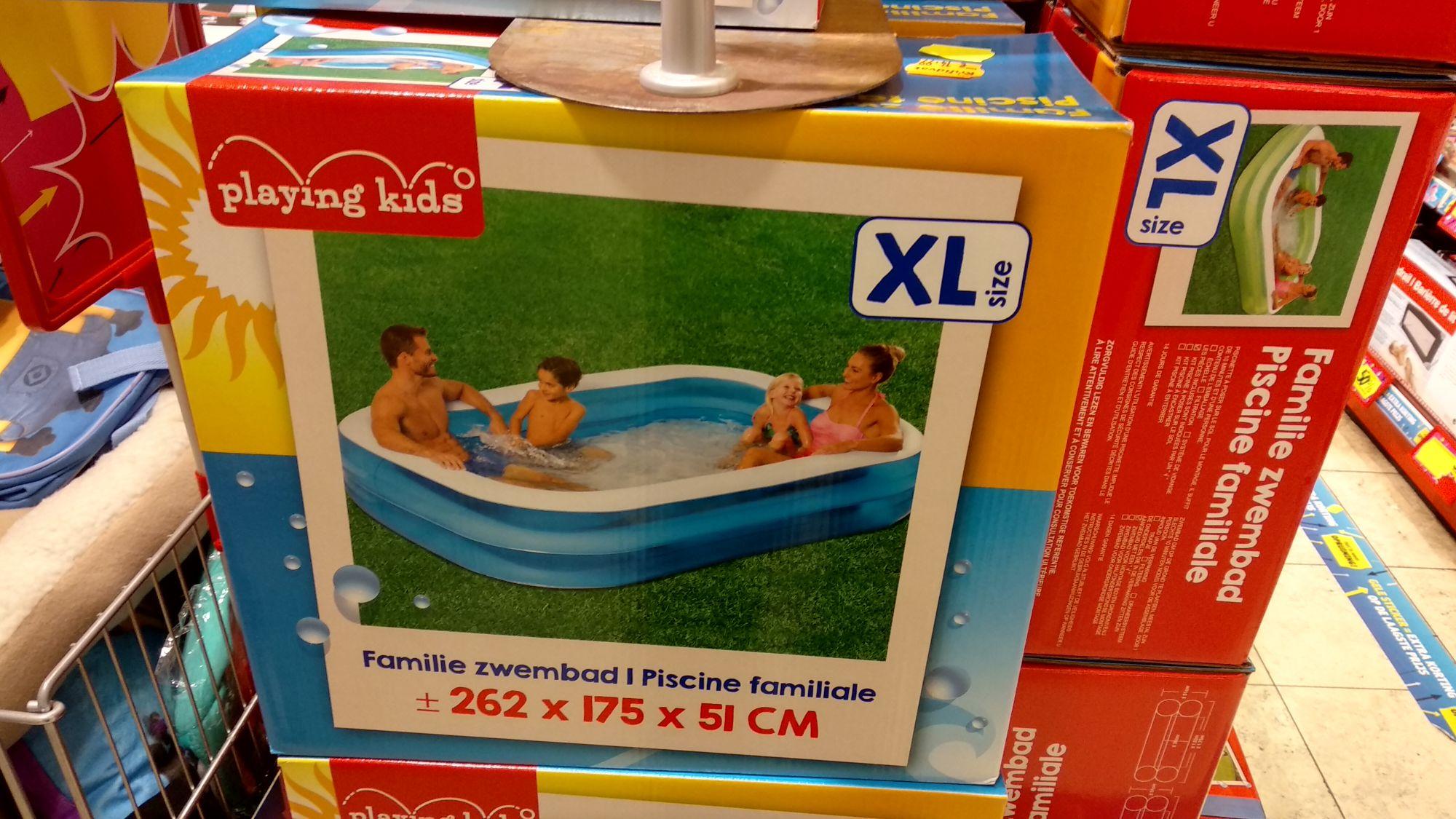 Lucht zwembad. - 50%. 7,50eur /XXL 10eur