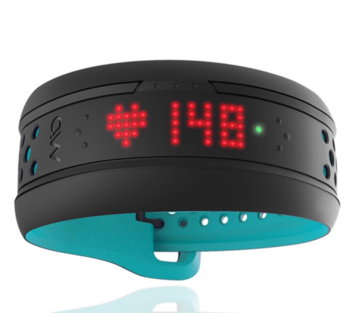 MIO Fuse Hartslag Polsband + Performance Monitor - Aqua van 179 voor 78 euro