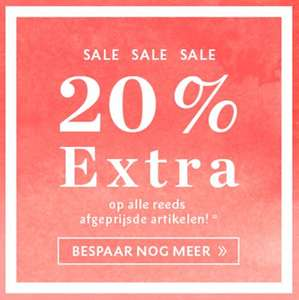SALE tot -70% + 20% extra korting @ Street One