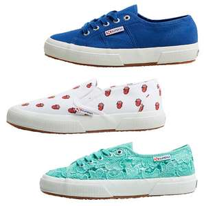Superga sneakers 52-83% korting @ MandM Direct
