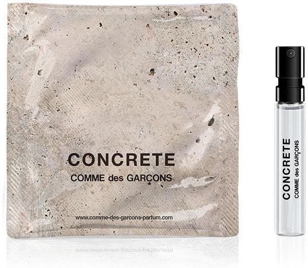 Gratis Sample Comme des Garcons Concrete Parfum