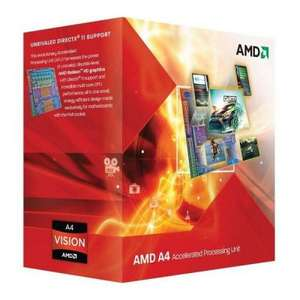 AMD A4-3400 Boxed Processor voor €10,45 @ Azerty