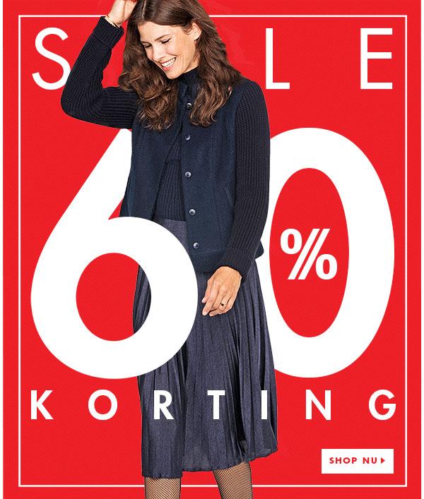 Sale 60% korting @ Promiss