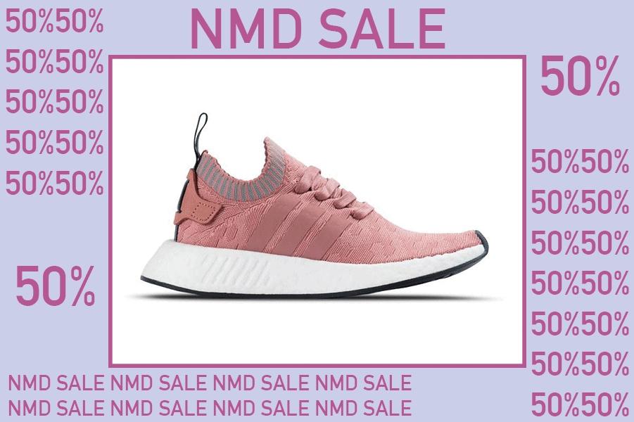Op alle Adidas NMD 50% korting flash sale
