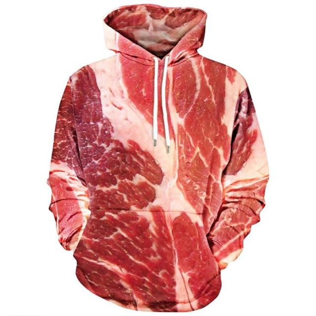 Rauw vlees hoodie voor 9,09 bij Aliexpress