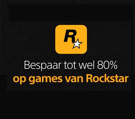 Rockstar uitverkoop + 10% extra korting @ PlayStation Store