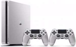 [PRIJSFOUT?] PS4 Slim Console Limited Edition Zilver + 2 Controllers voor €135 @ Bol.com