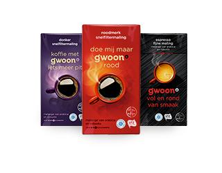 g'woon filterkoffie, 2e pak gratis