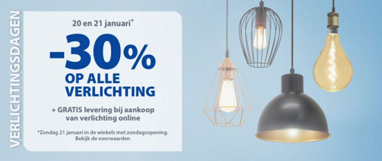 -30% op verlichting (ook op philips hue) @ gamma [BE]