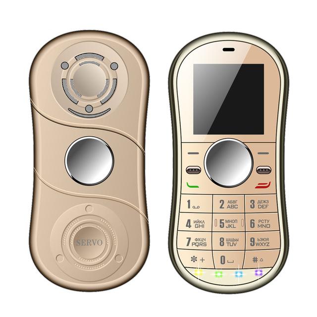 Mini Fidget Spinner Bluetooth Mobile Phone Dual SIM bij Zapals.com