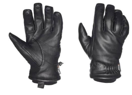 Sinner Falher - Leren Handschoenen - Volwassenen - Maat XXL - Zwart