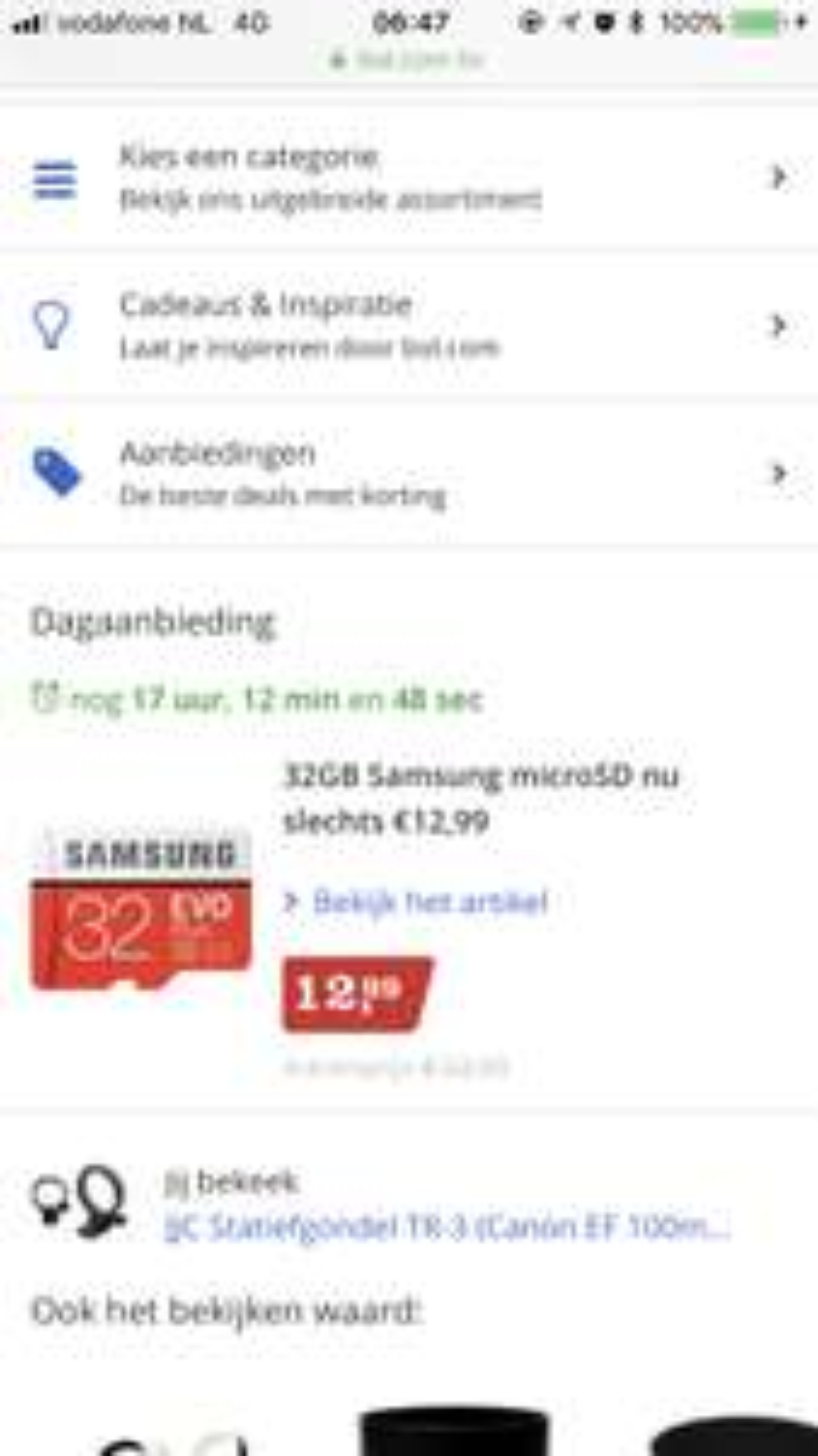 Samsung evo plus 32gb microsd €12,99