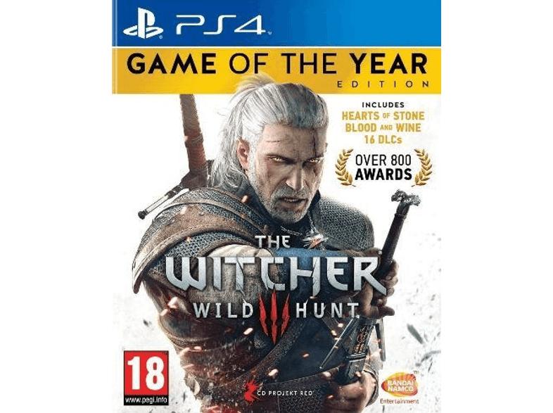 The Witcher 3 - Wild Hunt (GOTY Edition) PS4/ONE/PC voor €19,99 @ Mediamarkt/Nedgame